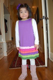 Dressing Madeline