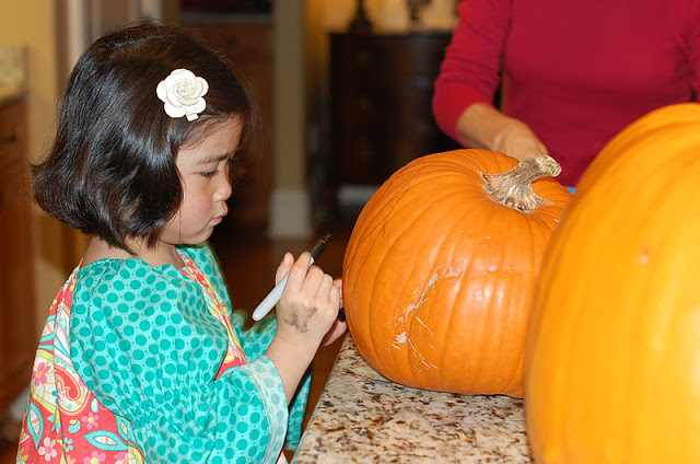 Pumpkins, Power Tools and Fingernail Polish!