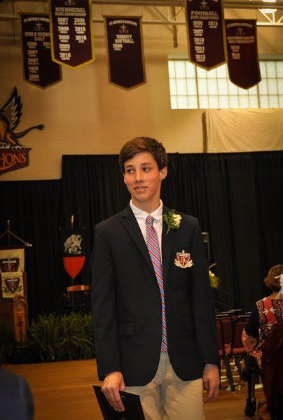 John David's 8th Grade Graduation
