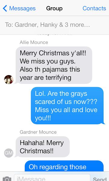 Annual Christmas PJ's…..